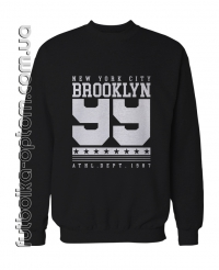Свитшот двухнитка brooklyn 99 big