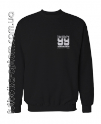 Свитшот двухнитка brooklyn 99 pocket