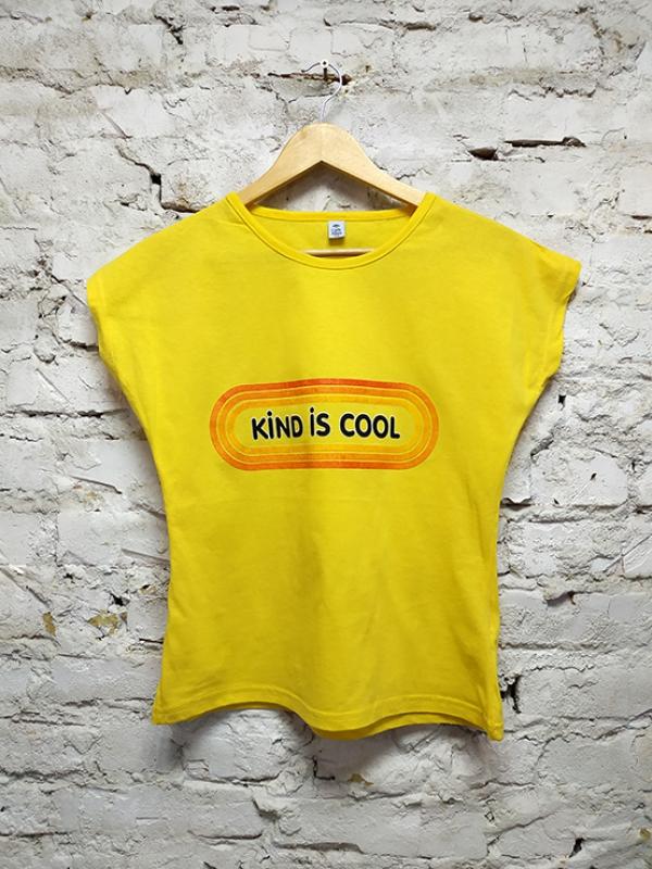 Футболка турецкая KIDS Yellow женская