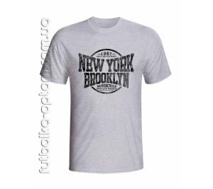 Футболка мужская NY Brooklyn