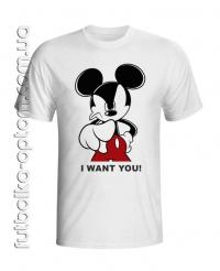 Футболка Mickey Mouse (Микки Маус)
