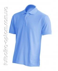 Футболка Polo голубая