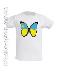Подростковая Футболка Метелик Україна