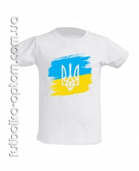 Подростковая Футболка з прапором України