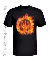 Футболка Огненный тризуб