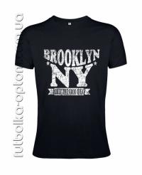 Футболка мужская NY Brooklyn Premium