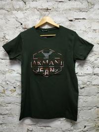 Футболка турецкая ARMAN Black  мужская