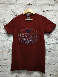 Футболка турецкая ARMAN Bordo мужская