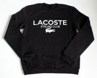 Свитшот черный Lacoste