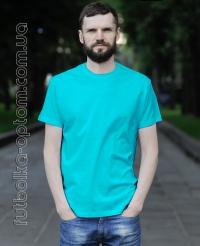 Бирюзовая мужская футболка Standart
