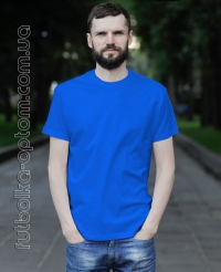 Синяя мужская футболка Standart