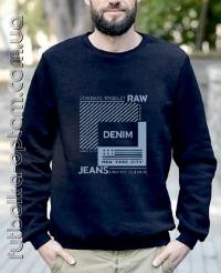 Свитшот трехнитка DENIM B