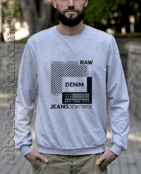 Свитшот трехнитка DENIM GB