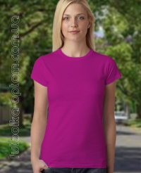 Фуксия женская футболка Standart
