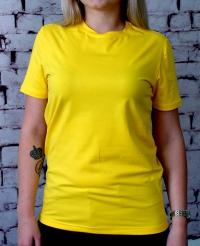 Футболка женская желтая Premium