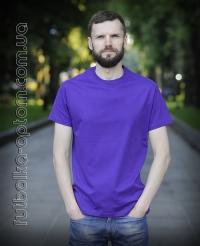 Фиолетовая мужская футболка Standart