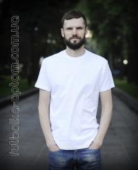 Белая мужская футболка Standart