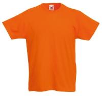 Оранжевая детская футболка