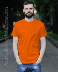 Оранжевая мужская футболка Standart