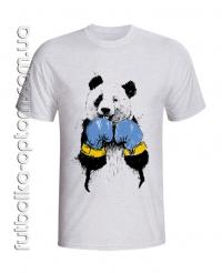 Футболка Панда в боксерских перчатках