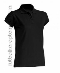 Футболка женская Polo черная