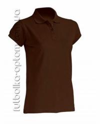 Футболка женская Polo коричневая