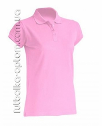 Футболка женская Polo светло розовая