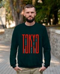 Світшот трьохнитка Tokyo Бутилка