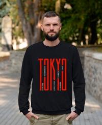 Світшот трьохнитка Tokyo Чорний