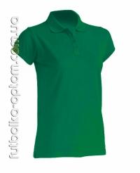 Футболка женская Polo зеленая
