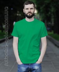 Зеленая мужская футболка Standart