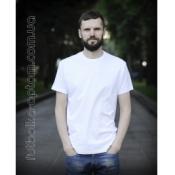 Біла чоловіча футболка Standart